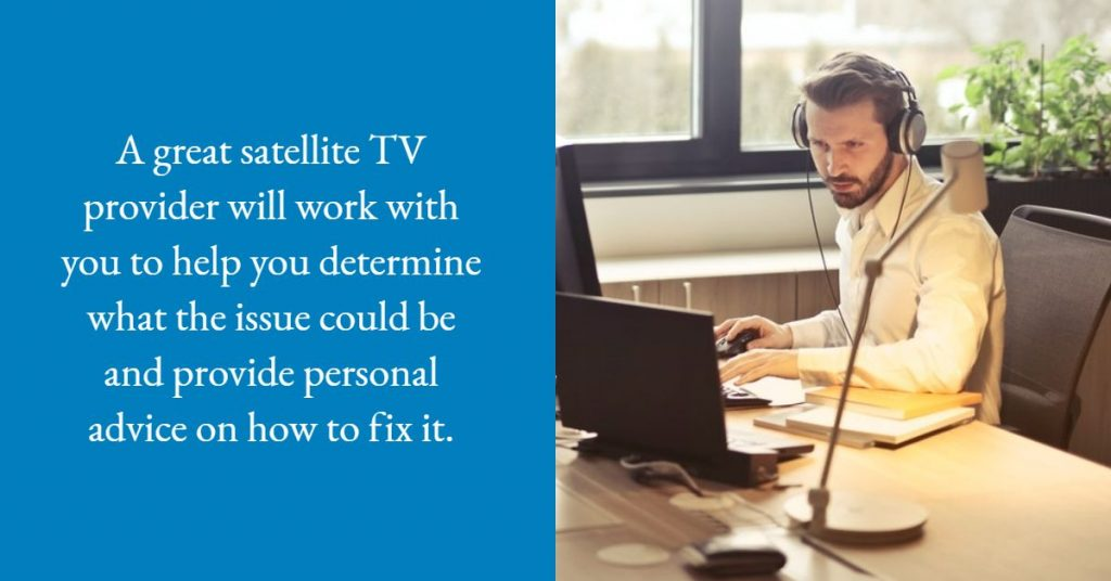Ask Your Satellite TV Provider
